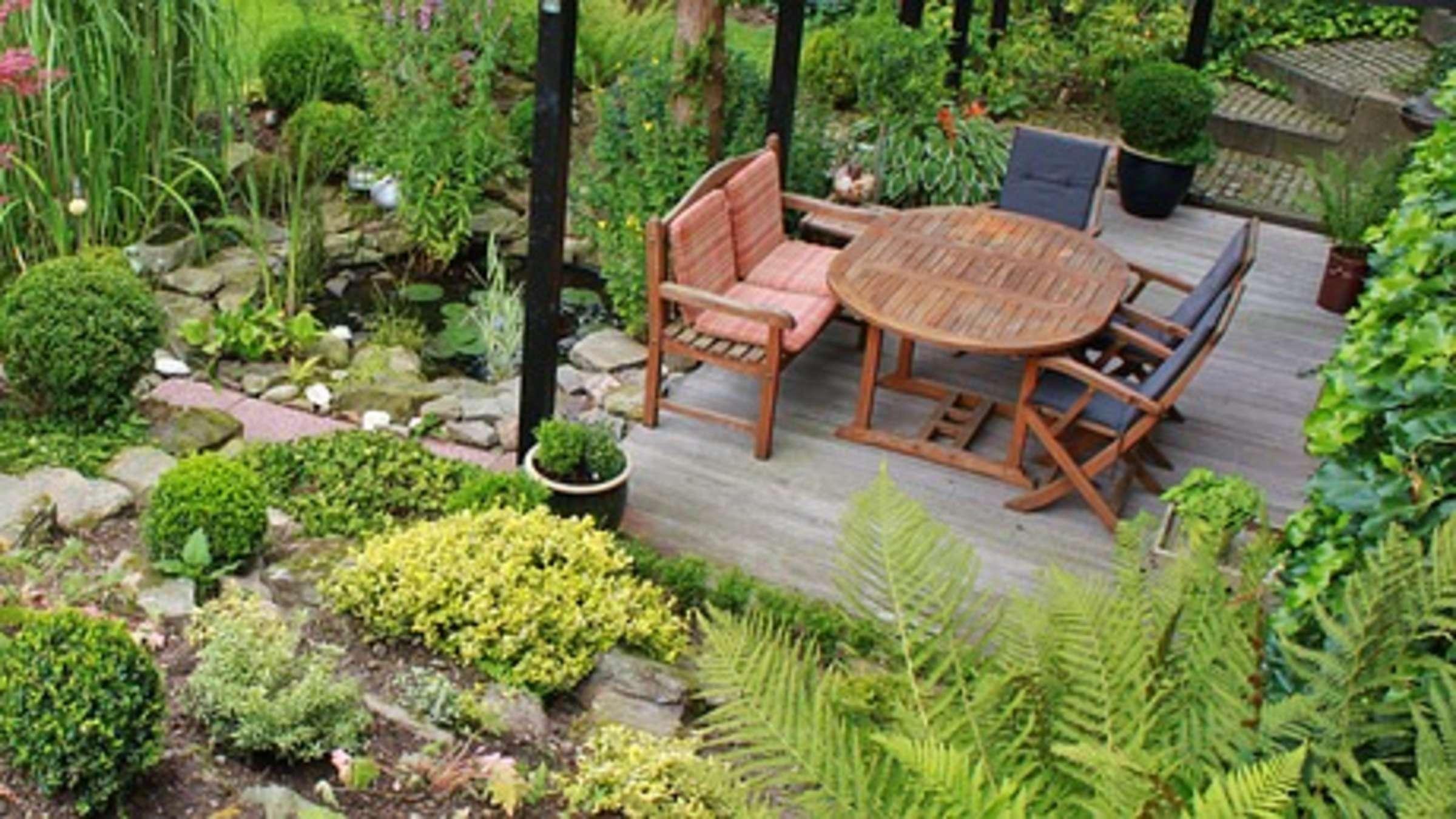 Garten verschönern schnell gemacht vier einfache Tipps   Wohnen