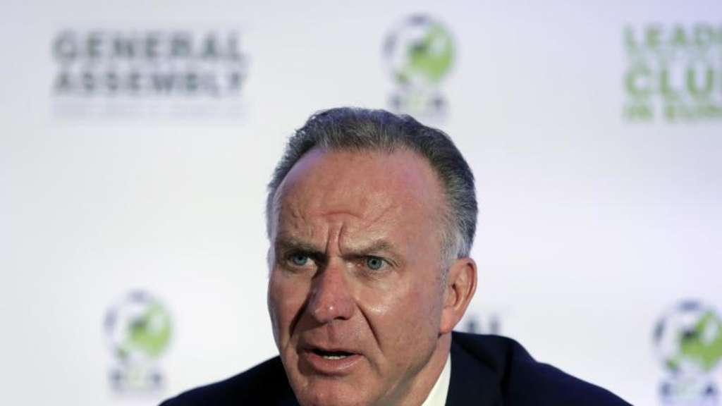 Karl-Heinz Rummenigge will das Financial Fairplay verschärfen. Foto: Thanassis Stavrakis