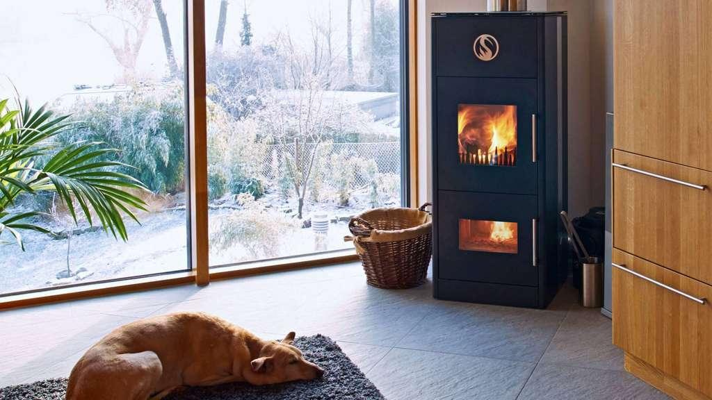holzvergaser kamin fen an das zentrale heizsystem anschlie en anzeigen. Black Bedroom Furniture Sets. Home Design Ideas