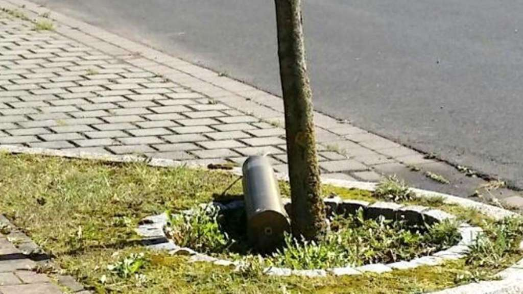 Unbekannte legen Munition in Oberdünzebach ab