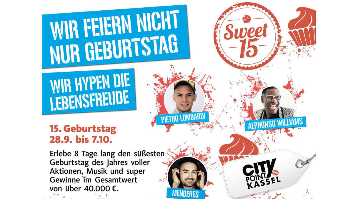 Der city point feiert geburtstag kassel for Depot kassel city point