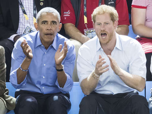 "Prinz Harry und Obama gemeinsam bei ""Invictus Games"" in Toronto"