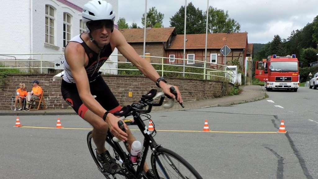 Triathlet Mirko Witte will auch mal beim Ironman in Hawaii starten
