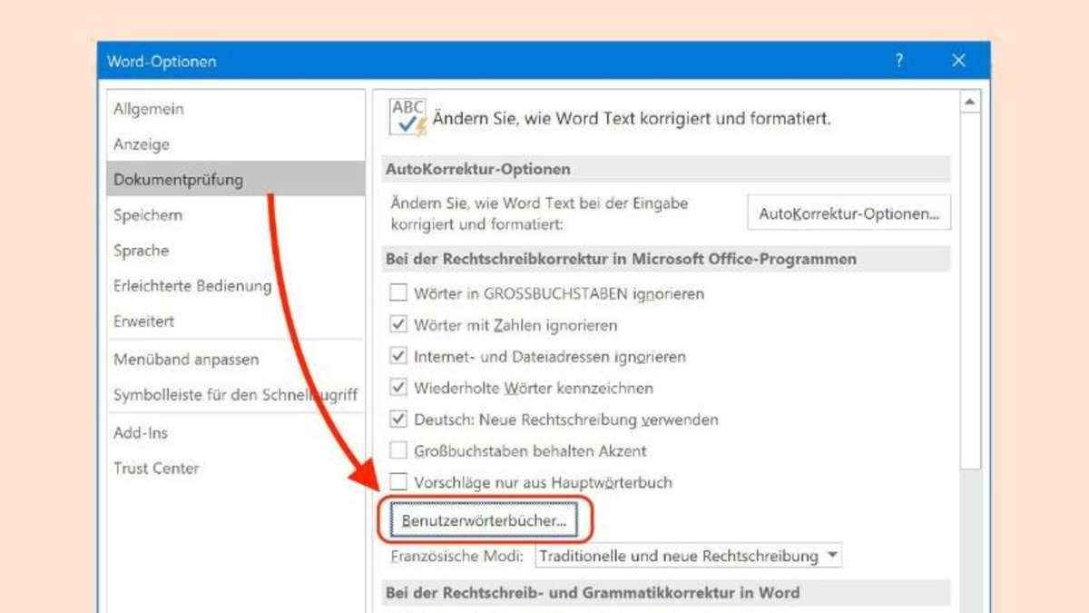 Wörterbuch in Microsoft Word bearbeiten | Netzwelt