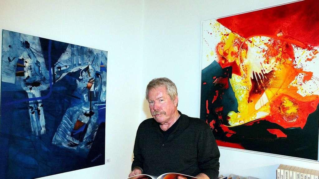 Von Berlin Nach Naumburg: Maler Helmut Wenzel Und Seine Frau Finden Neue  Heimat