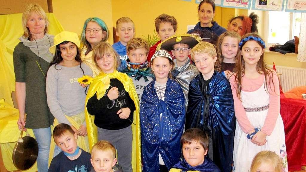 Kinder der Grundschule Ernsthausen lernen Konfliktumgang bei ...