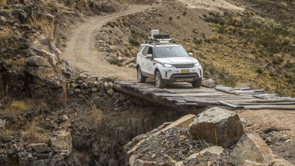 Land Rover Experience Tour: Offroad mit dem Discovery durch Peru