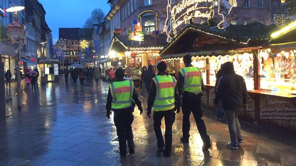 Weihnachtsmarkt Göttingen.Göttinger Weihnachtsmarkt 2017 Sicherheit Und Mehr Polizei Göttingen