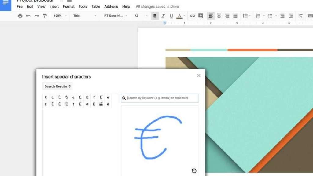 Google Docs Symbole Zeichnen Und Einfügen Netzwelt