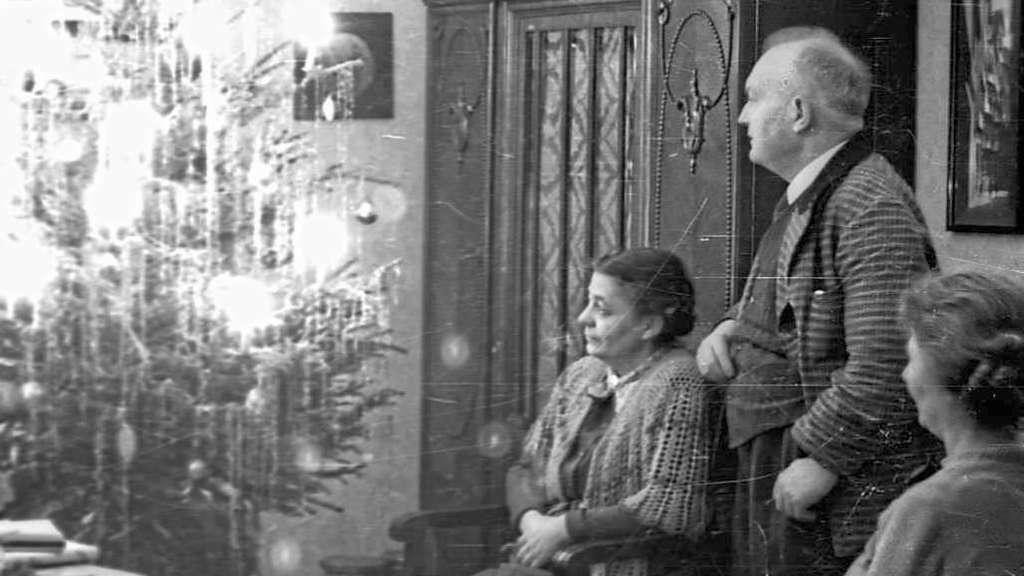 historische fotos weihnachten in der nachkriegszeit kassel. Black Bedroom Furniture Sets. Home Design Ideas