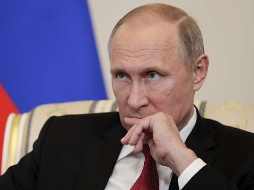 Putin: Explosion in St. Petersburg war Terror