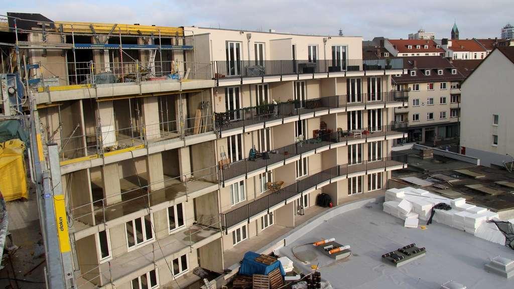 Studentenwohnung Kassel bau bis zum herbst fertig: neue wohnungen am königstor in kassel