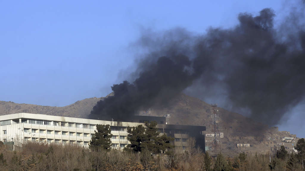 Angriff auf Hotel in Kabul