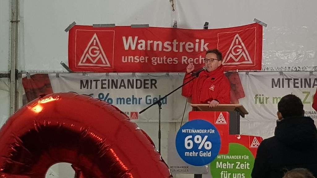 Streik Der Ig Metall 2018 Am Freitag In Kassel Mercedes Streikt