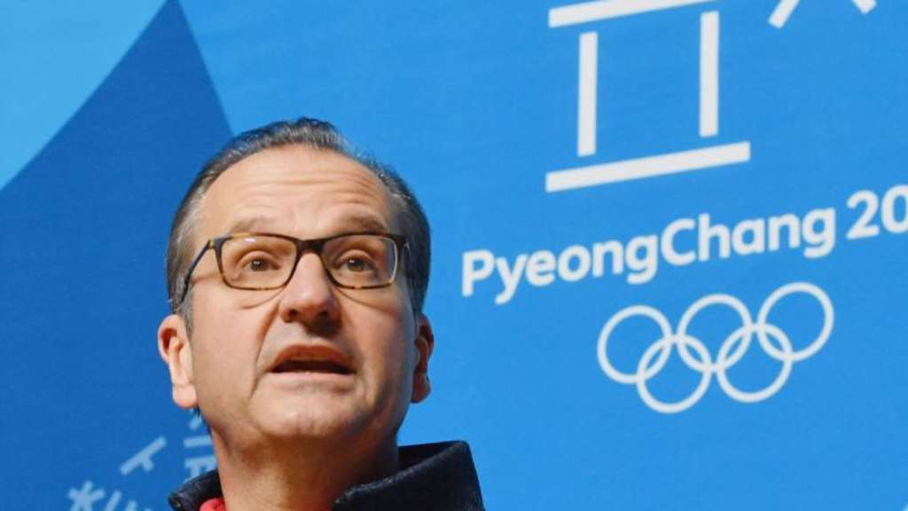 Mark Adams, Kommunikationsdirektor des Internationalen Olympischen Komitees (IOC). Foto: kyodo/dpa