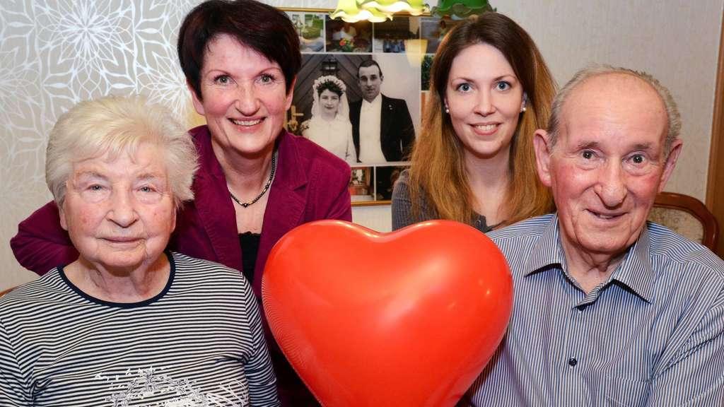 Liebe Am Valentinstag Kasseler Paar Ist Seit 65 Jahren Verheiratet