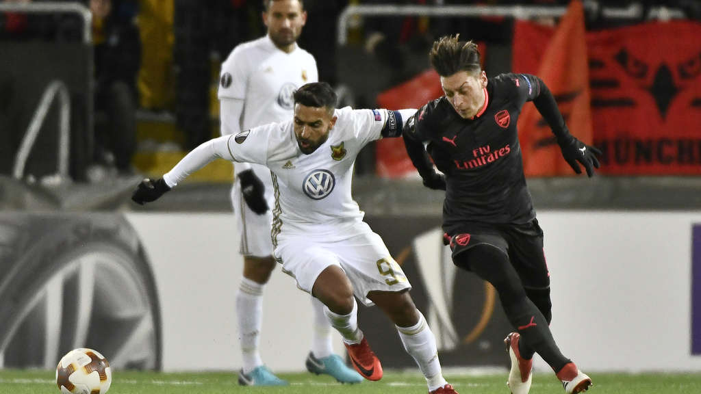 Europa League: Östersund FK - FC Arsenal