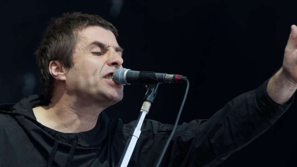 Liam Gallagher 20017 bei Rock im Park. Foto: Daniel Karmann