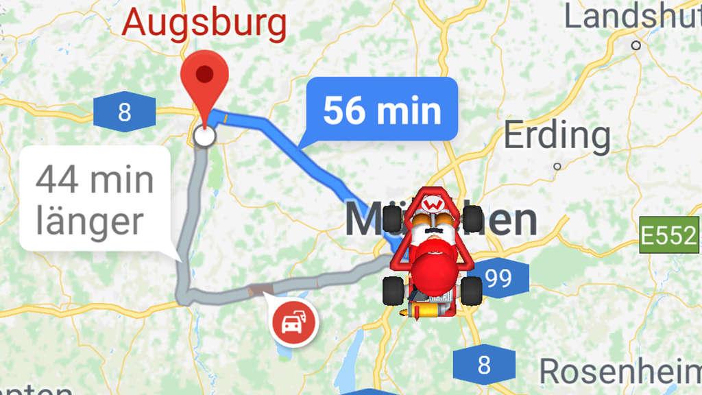 Noch bis Freitag: Mario Kart bei Google Maps spielen | Netzwelt Dgoogle Maps on