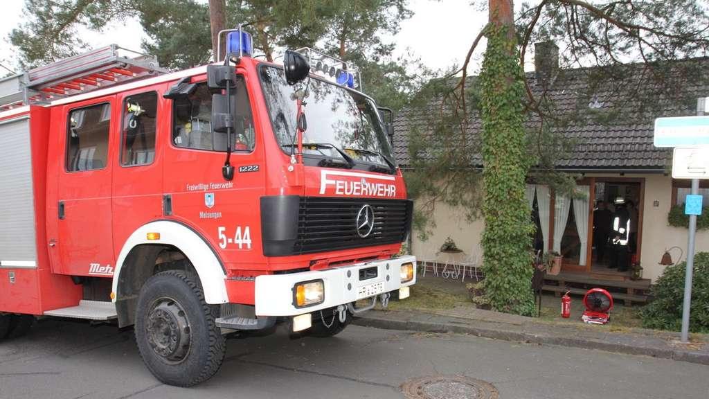 Nachbarn bemerkten küchenbrand in melsungen bewohner löschte