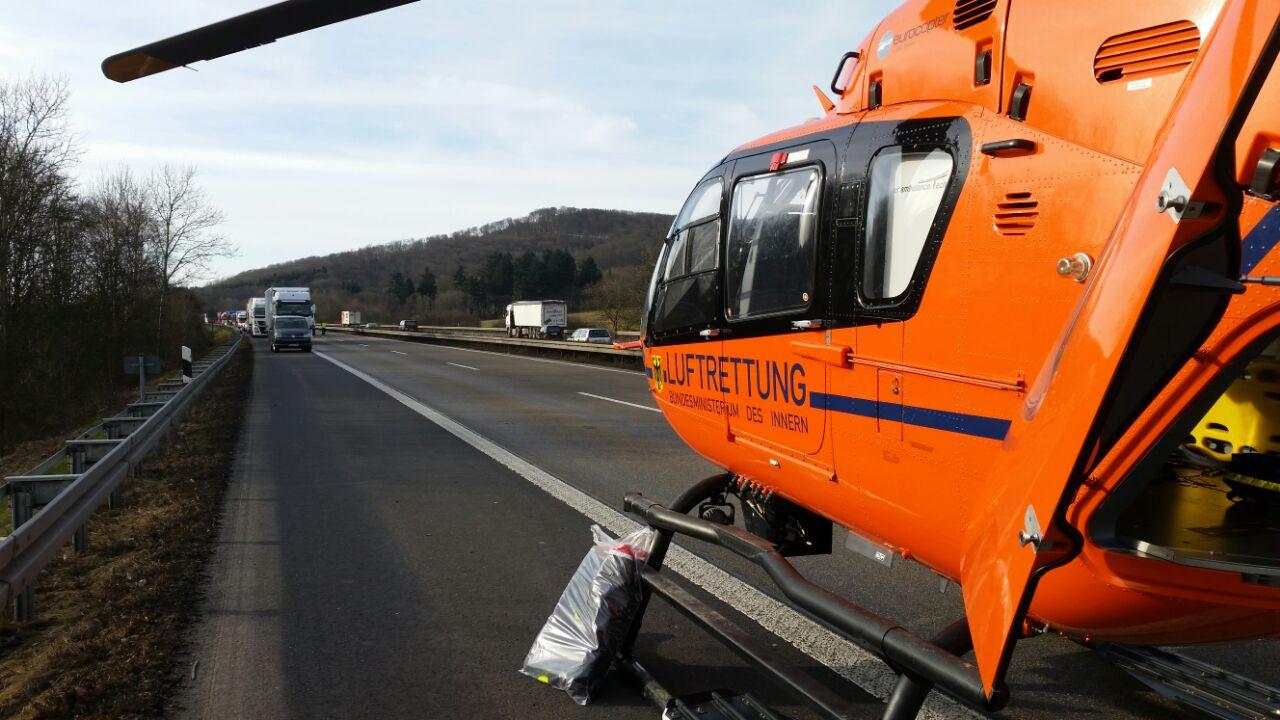 Unfall A44 Kassel