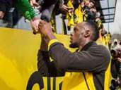 Borussia Dortmund, Training, Usain Bolt
