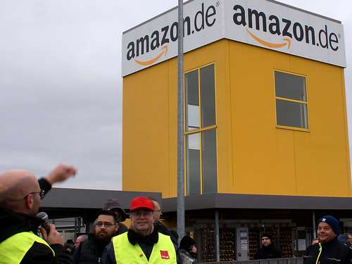 Amazon: 600 streiken laut Verdi in Bad Hersfeld