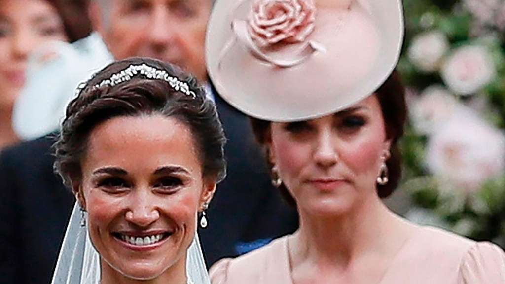 Pippa und Kate Middleton.