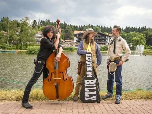 Hillbilly-Walpurgis mit Heartburn Billy & His Burning Harz