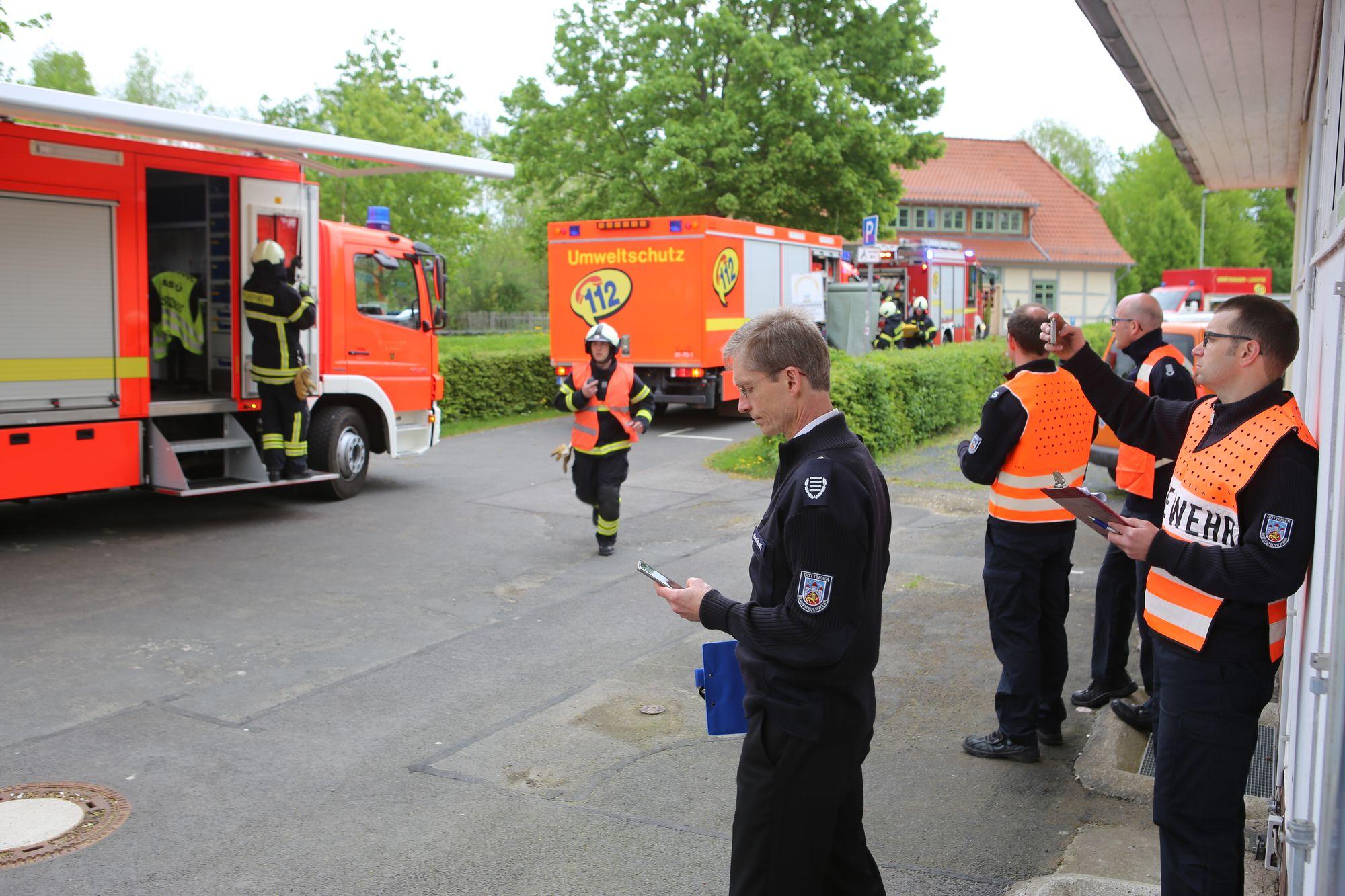 Göttinger Freibad Brauweg: Übung für den Katastophenfall | Göttingen