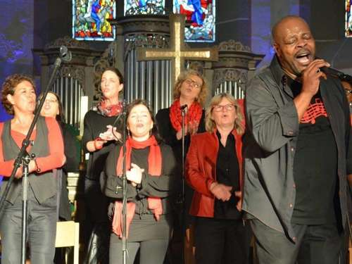 Voices United singt in Kirche St. Georg