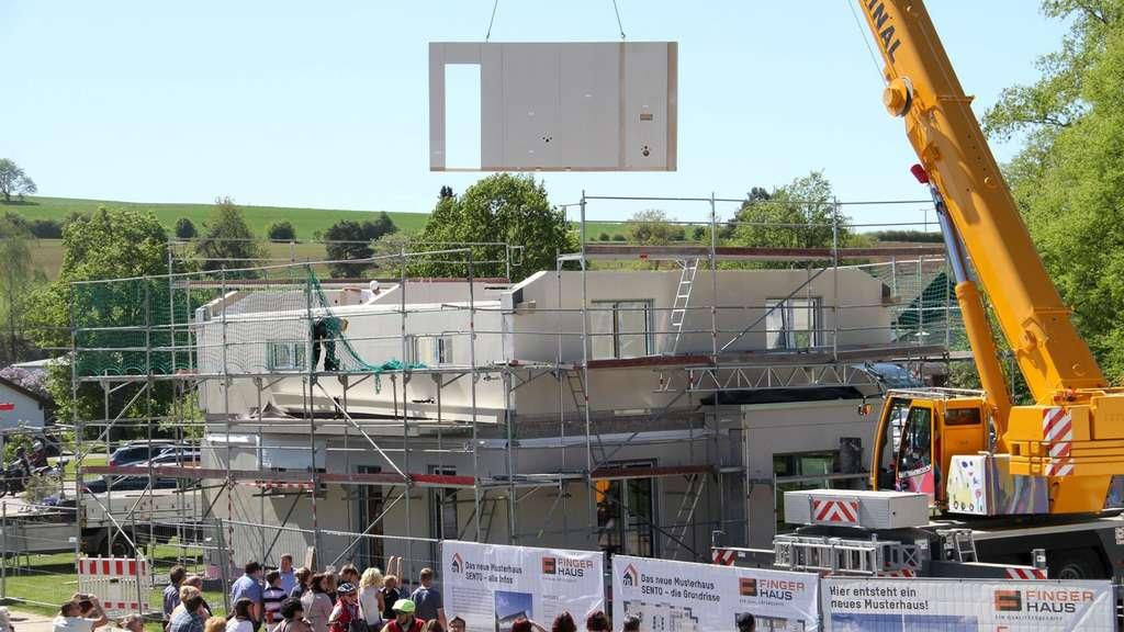 Finger Haus info tag beim fertighausunternehmen finger haus in frankenberg