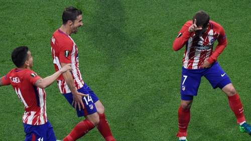 Europa League-Finale im Ticker: No pardon! Griezmann ballert Atletico zum Titel