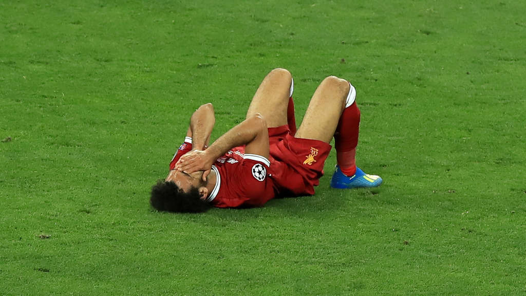 Diagnose da! So geht es Mohamed Salah