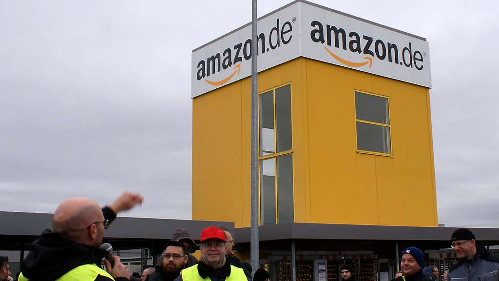 Streik bei Amazon in Bad Hersfeld am Prime Day