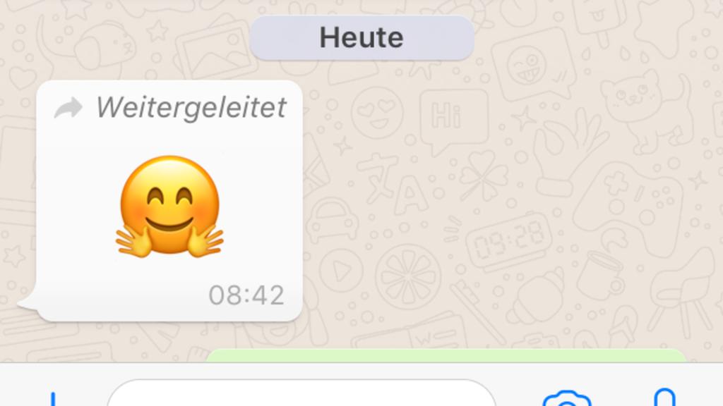 Weiterleiten Bei Whatsapp Nachrichten Von Dritten Werden Nun