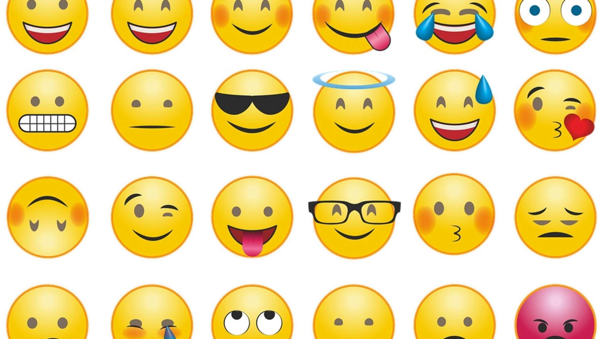 Die was emoji bedeuten Was bedeuten