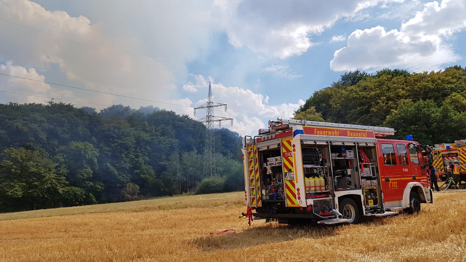 Waldbrand Kassel