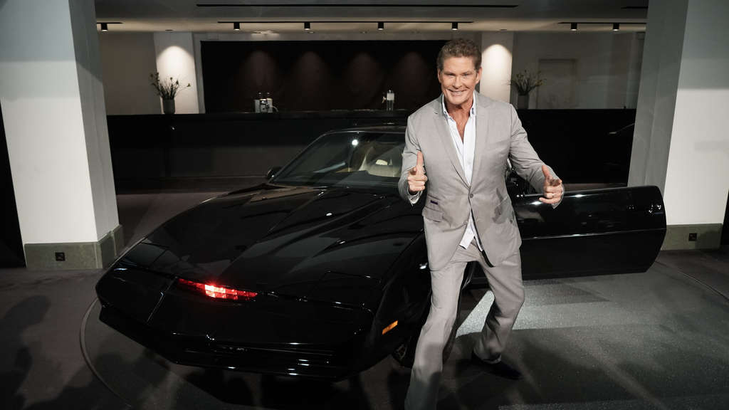 Tourauftakt David Hasselhoff