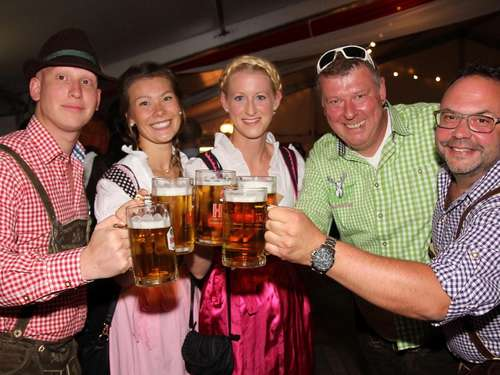 Wiesn-Party in Melsungen war ausverkauft