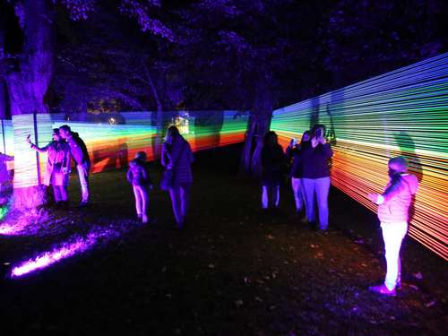 Bella Skyway-Festival in Göttingen: Licht-Installationen locken die Massen