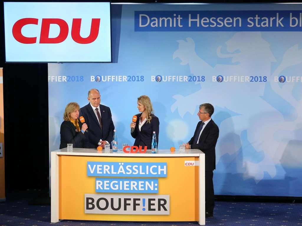 Vorläufiges Endergebnis bei der Hessenwahl: Grüne überholen