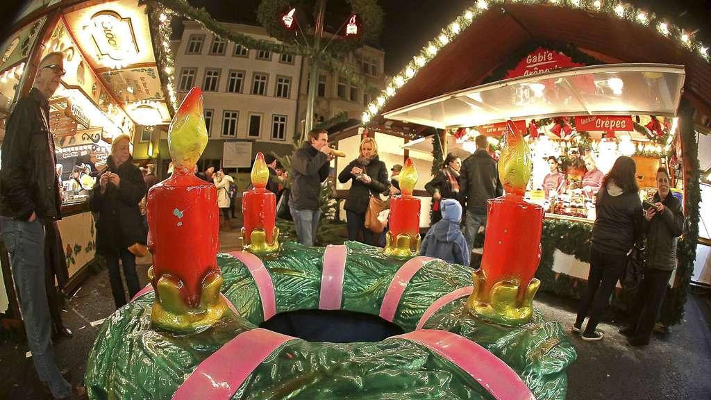 Weihnachtsmarkt Göttingen.Weihnachtsmarkt In Göttingen Streit Um Glühwein Ausschank Göttingen