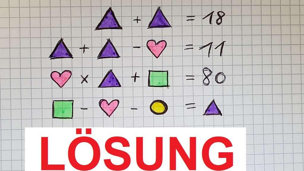 Lösung Bilder Rätsel Bringt Völlig Durcheinander Welche Zahl