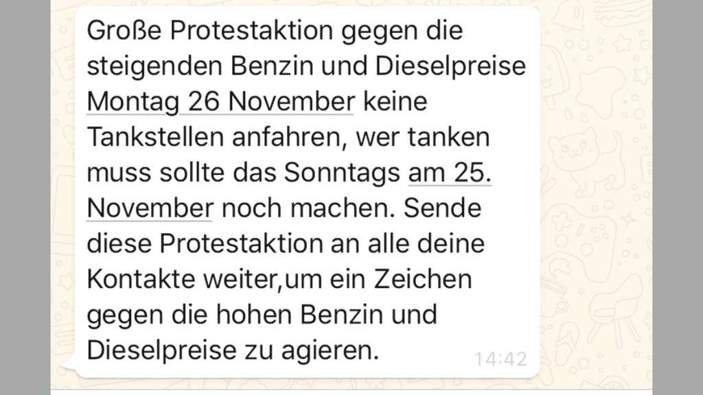 Whatsapp: Dubioser Kettenbrief ruft zu Tankstellen-Boykott auf ...