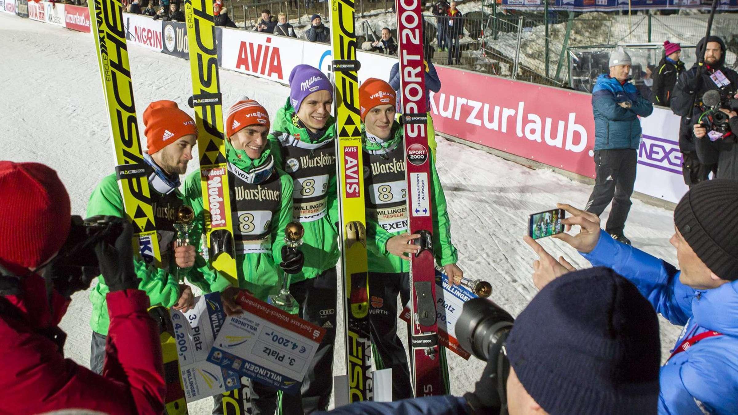 skispringen willingen zeitplan