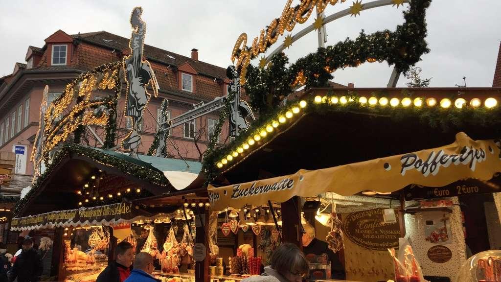 Weihnachtsmarkt Göttingen.Besucher Und Jury Wählen Die Besten Stände Auf Dem Göttinger
