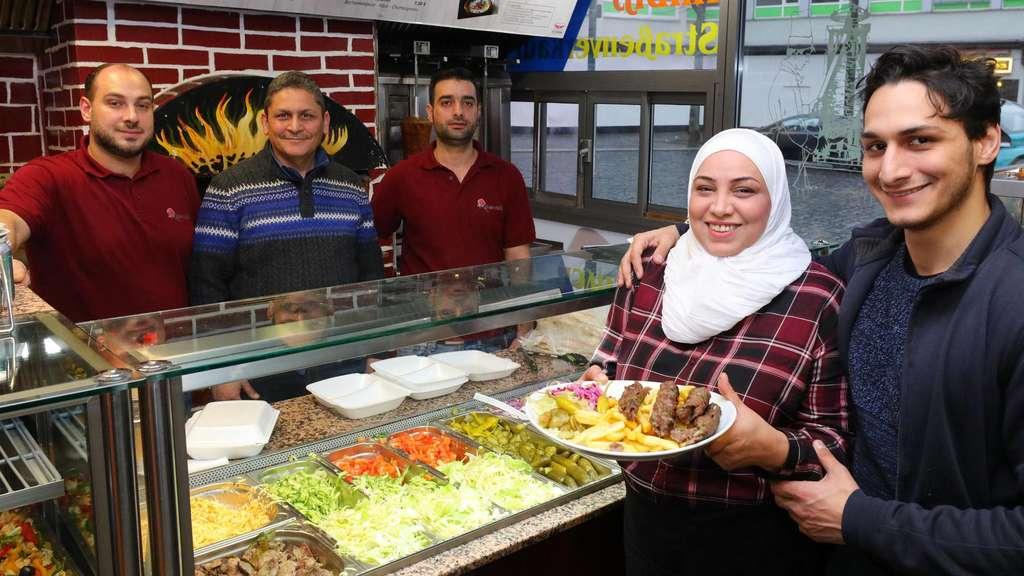 Syrisches Restaurant Ramoosh In Kassel Von Flüchtlingsfamilie