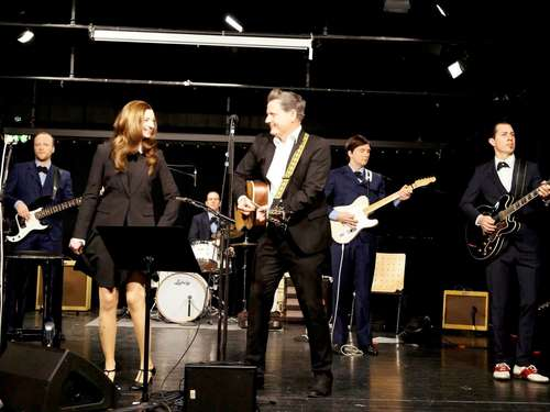"Johnny-Cash-Show mit der Band ""The Cashbags"" in Dransfeld"