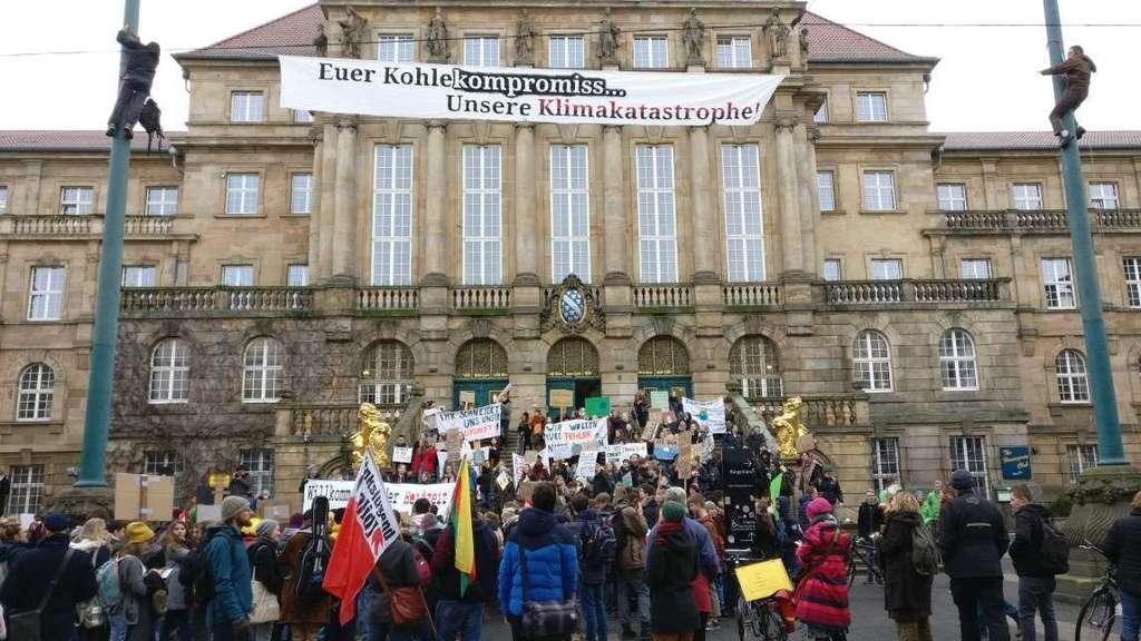 Kasseler Schüler streiken für die Umwelt